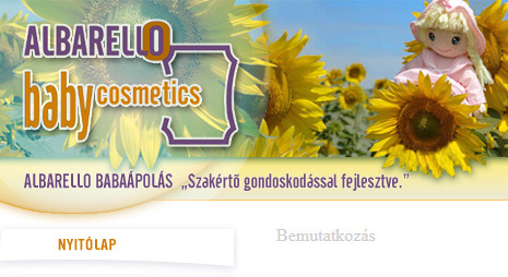 ALBARELLO Baby Cosmetics