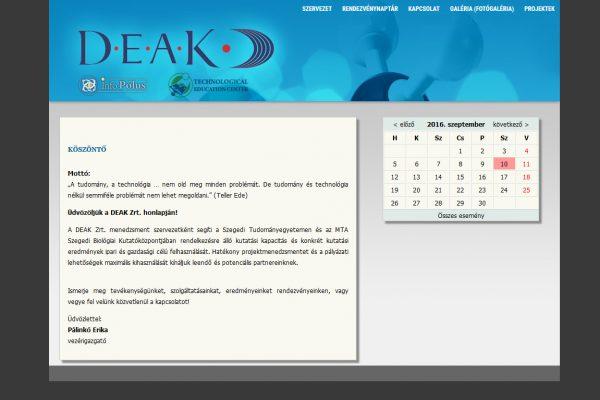 DEAK Zrt. – Egyetem…